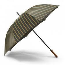 Спортивный <b>зонт</b>, с зеленой полосой <b>Dalvey 03123</b> .