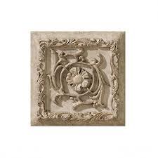 <b>Керамический декор</b> 15x15 см арт. G12509 Grigio Formella Tibur ...