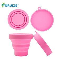 Furuize Menstrual Sterilizing Cup Collapsible Silicone ... - Amazon.com