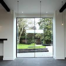 large sliding patio doors: keller minimal windows large scale frameless sliding windows for floor to ceiling transparency made to measure sliding windows