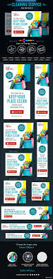 cleaning company banners cleaning banner template and company cleaning company banners template psd buy and graphicriver