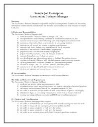 cover letter staff accountant job description staff accountant job cover letter best photos of example job description template sample accountingstaff accountant job description large size