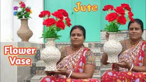 Home Decor <b>DIY</b>-HomeCrafted Flower vase    <b>Easy handcraft</b> ...
