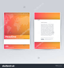 brochure design template advertising creative leaflet stock vector brochure design template for advertising creative leaflet pamphlet flyer cover for corporate and