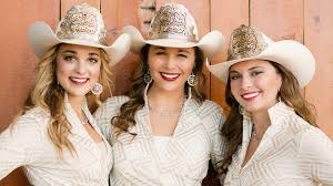 calgary stampede annual report cs family 2015 calgary stampede queen mick plemel and princesses haley peckham and kimberly stewart