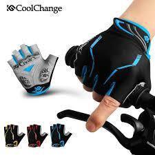 CoolChange bike gloves GEL Pad <b>bicycle Glove outdoor sports</b> mtb ...