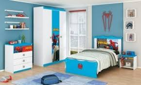 kids room ideas hanging white wooden spiderman varnished rack blue wool rug cupboard table with toys charming boys bedroom furniture spiderman