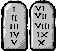 Image result for commandment tablets