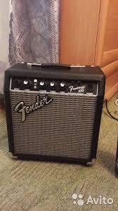Компактный <b>гитарный</b> комбик <b>Fender frontman</b> 10G - Хобби и ...