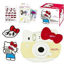 Limited Edition <b>Fujifilm</b> Instax Mini <b>Hello Kitty</b> Instant Camera Red + ...