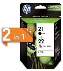 Buy <b>HP 21</b> + <b>22</b> Ink 2-pack (<b>SD367AE</b>)