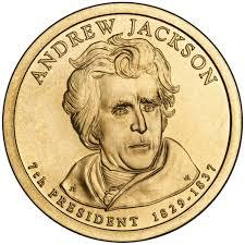 「Andrew Jackson」の画像検索結果