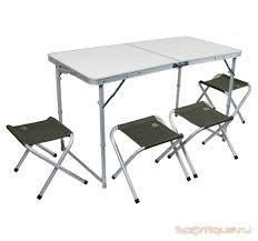 <b>Набор мебели Trek</b> Planet Event set Green 120 стол+4 стула