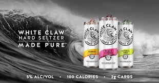 <b>White Claw</b>® Hard Seltzer | Made Pure®