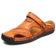 <b>IZZUMI Men's</b> Summer <b>Sandals</b> Hollow Anti-slip <b>Slippers</b> – D&A Ltd
