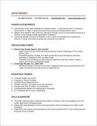 Sample Real Estate Agent Resume Real Estate Salesperson Resume Sample real estate broker cover letter