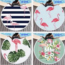 150*150CM <b>Round Beach</b> Towel Flamingo <b>Digital Printing Beach</b> ...