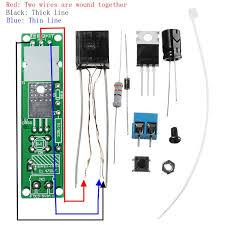 eqkit® arc ignition lighter dc3-<b>5v 3a</b> diy high pressure electronic ...