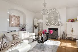 shabby chic living room style