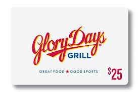 Glory Days Grill - GIFT CARDS - Order Online