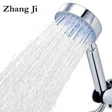 High Quality <b>Five Fuction Silica</b> Gel Holes Shower Head Water ...