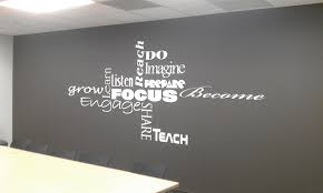 vinyl wall lettering in cleveland amazing wall quotes office
