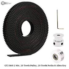 3DINNOVATIONS 2 Meters <b>GT2</b> 6mm Open Timing Belt + <b>1 Pcs 20</b> ...