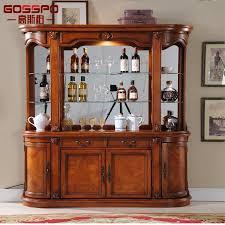 China <b>French</b> Style <b>Hot Sale</b> Antique Wood Wine Rack Cabinet ...