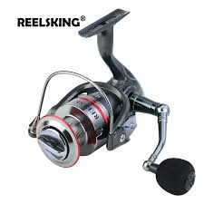 <b>REELSKING</b> Gear Ratio Up to 5.2:1 <b>Spinning Fishing Reel</b> with ...