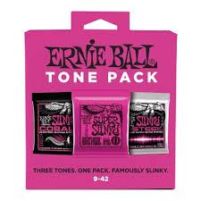 <b>Набор из 3х</b> комплектов струн ERNIE BALL 9-42 Nickel/Cobail/M ...