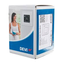 <b>Терморегулятор Devireg Touch</b>, цвет белый в Москве – купить по ...