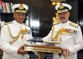 Chief of Naval Staff Admiral Devendra Kumar Joshi