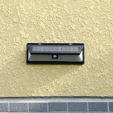 118LED <b>Solar Lamp</b> IP65 Waterproof Outdoor Garden Yard PIR ...