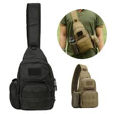 (^_-)2019 <b>New Men Tactical Military</b> Messenger Shoulder Bag Sling ...