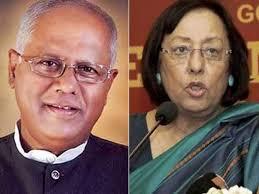 Najma Heptullah and GM Siddeshwara resign; Mukhtar Abbas Naqvi given charge of Minority Affairs Ministry के लिए चित्र परिणाम