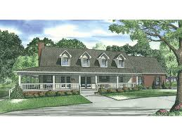 Calgary Bluff Cape Cod Home Plan D    House Plans and MoreSweeping Country Style House Has Cape Cod Influence
