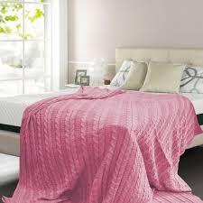 <b>Плед</b> «<b>Buenas Noches</b>» <b>полутораспальный</b>, вязанный трикотаж в ...
