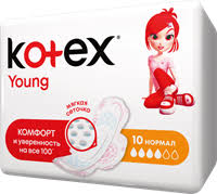 <b>Прокладки KOTEX</b> Янг сетч <b>нормал</b> – купить в сети магазинов ...