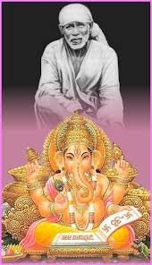 Image result for images of shirdisaibaba with ganesh