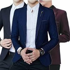 <b>large size Men</b> Suit Jacket <b>Long</b> Sleeve, Slim Design Blazer <b>Men</b> ...