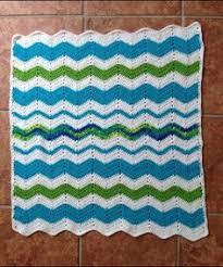 Stripy Wave Cushion pattern by Nicki <b>Trench</b> | mycrochet <b>ripples 3</b> ...