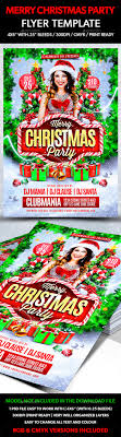 graphicriver merry christmas party flyer template graphicriver merry christmas party flyer template