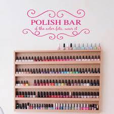 <b>YOYOYU Vinyl Wall Decal</b> Fashion Nails Salon Wall Stickers Girls ...