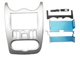<b>Переходная рамка Intro RFR-N28</b> для Renault Logan 2DIN Silver ...