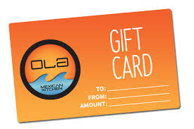 OLA Gift Card | Ola Mexican Kitchen