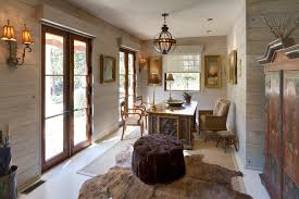 knotty pine kitchen in home office shabby chic with arm chairs animal hide rugs animal hide rugs home office traditional