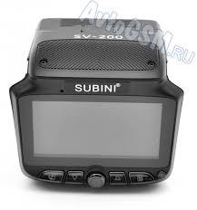 <b>Видеорегистратор</b> + радар-детектор <b>Subini SV</b>-<b>200</b> - запись ...