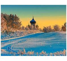 Molly <b>Картина по номерам Русская</b> зима 40х50 см - Акушерство.Ru