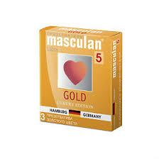 <b>Презервативы Masculan</b> 5 <b>Ultra</b> утонченный латекс золотого ...