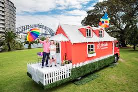 airbnb offers night in cottage for mardi gras float mumbrella airbnb sydney